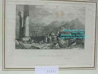 73442-Asien-Asia-Syrien-Syria-Tadmor-Palmyra-Stahlstich-Steel engraving-1834