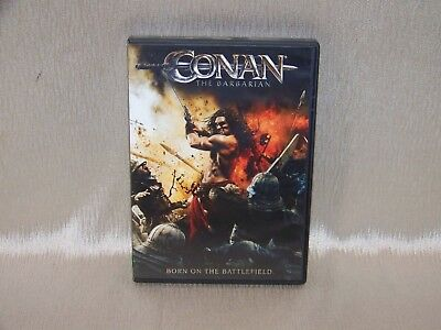 Conan The Barbarian (DVD, 2011) Starring Jason Momoa In Great Used Condition