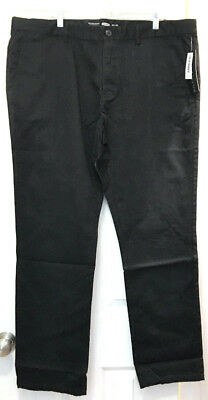 Old Navy Men's Skinny Ultimate Built-In Flex Khakis, Black, 34 x 32 MSRP $39.99