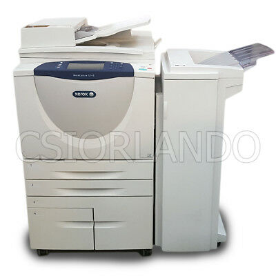 Xerox WorkCentre 5745 B&W Multifunction Copier, Printer, Scanner With Finisher