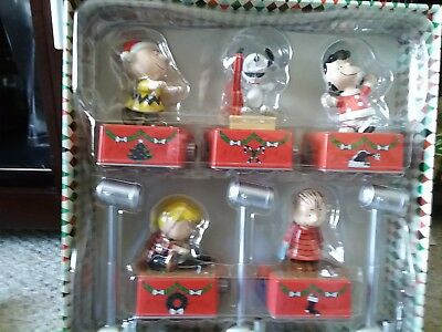 Hallmark 2017 PEANUTS Christmas Dance Party Collector's Set Repaint Boxed