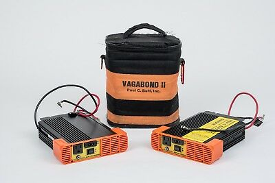 AS IS - TWO Paul Buff Vagabond II Portable Power System Inverters for Alien Bees