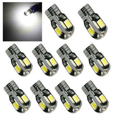 10 PCS Canbus T10 194 168 W5W 5730 8 LED SMD White Car Side Wedge Light Lamp Hot