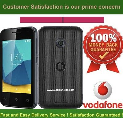 UNLOCK CODE FOR VODAFONE Vfd 200 SMART  INSTANT 1 to 12 Service