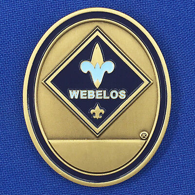 Boy Scouts of America Cub Scouts Webelos Engravable BSA Scouting Challenge Coin
