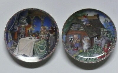 ONCE UPON A TIME > TWO PLATES > BEAUTY & THE BEAST ~THREE LITTLE PIGS     x1