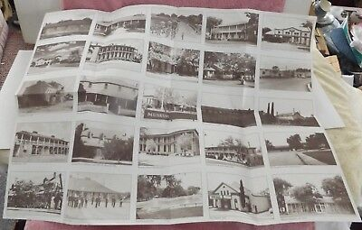 Large Fold-Out Brochure on Historical  FORT CLARK Las Moras - Brackettville Tx