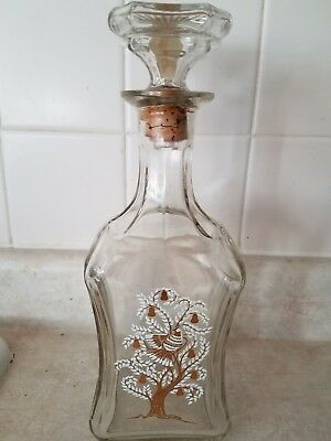 Old Fitzgerald Bourbon Whiskey decanter 4/5QT