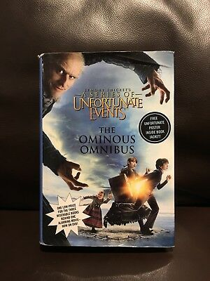 Lemony Snicket's a Series of Unfortunate Events Books 1-3 Hardcover