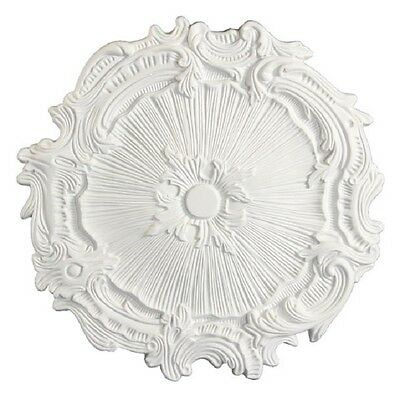"16"" Ceiling Medallion Antique Style French Design 5162 Polyurethane White Primer"