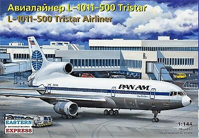 EASTERN EXPRESS 144114 - Airliner L-1011-500 Tristar Pan Am /Modellbausatz 1:144