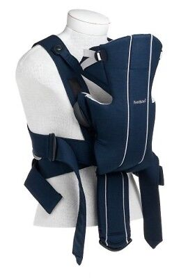 Baby Bjorn Carrier in Dark Navy Cotton used in great condition