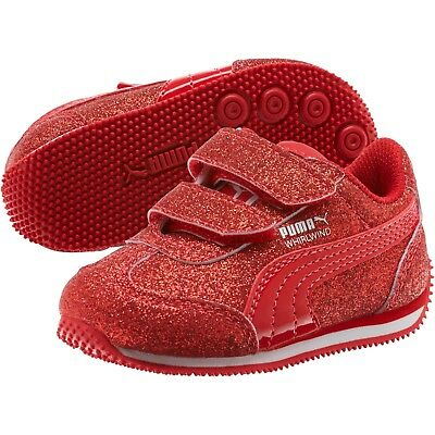PUMA SHOES GIRLS Whirlwind Glitz V Toddler Infant Baby Kids