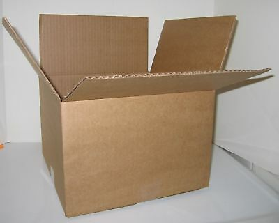 10 7x7x6 Cardboard Packing Mailing Moving Shipping Corrugated Boxes Cartons