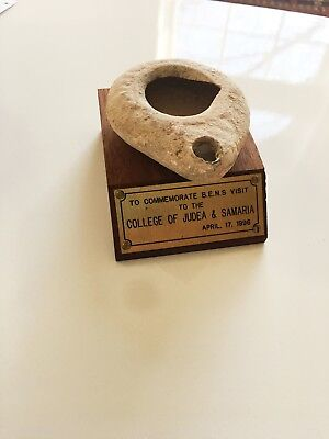 Oil Lamp from the Roman Period (1st to 3rd century CE.) w/ Antiquity Certificate
