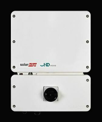 Solaredge Se7600H-Us Hd Wave Grid Tie Inverter 7600W 240 Vac, String Inverter