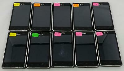 Lot of 10 LG Mach LS860 Sprint QWERTY Android Smartphone Cellphone BULK 265