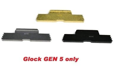 DELTAC® Extended Slide Lock Lever For Gen5 Glock 17, 19, 19X, 26, 34  and 45