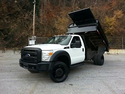 2012 Ford F450 6.8L Metal Bed Dump with 70k Miles