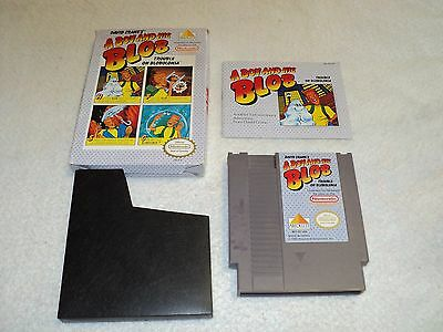 Nintendo Nes A Boy And His Blob With Manual 1989 David Crane's 100% Complete