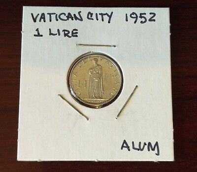 Vatican City 1952, 1 Lire