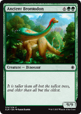 MTG - Ixalan (XLN) Green Cards Numbers 175 to 216