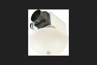 AIR KING AMERICA AKLC70SNS 70 CFM Decorative Quiet Exhaust Fan, Nickel