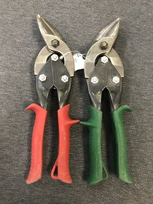 Midwest Offset Right and Offset Left MWT-6510R and MWT-6510L Metal Snips(USED)