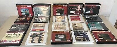 Collection Of 20 Audiobooks On CDs (Group O)