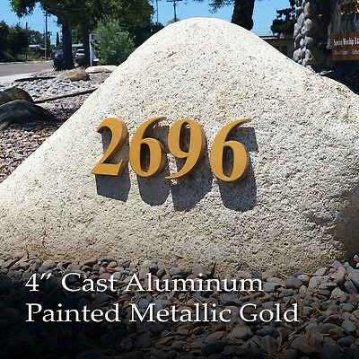 Sign Letters Address Numbers Cast Aluminum or Bronze Lifetime Guarantee