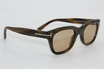 9bb6d7616f5 Tom Ford Tf 237 05J Snowdon Havana Authentic Frame Sunglasses 50-21 W case