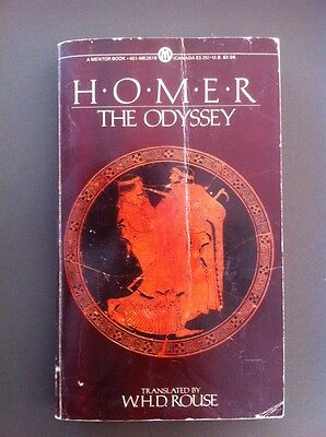 HOMER The Odyssey Translated By W H D Rouse Ancient Greece Odysseus