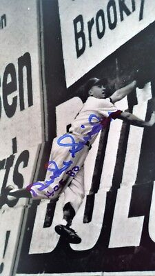 Duke Snider Autographed Brooklyn Dodgers  8 x 10 Photo -  Signed with COA