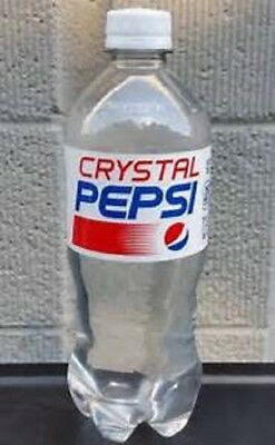 Crystal Clear Pepsi  20 Oz. Plastic Bottle