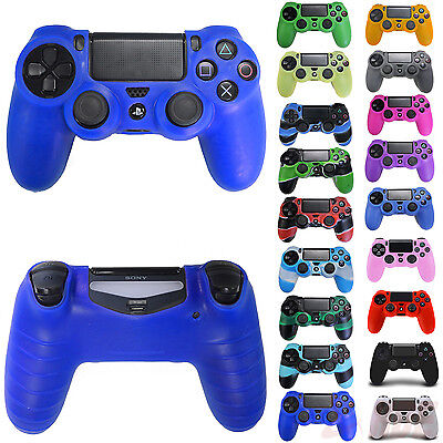 Pro Silicone Rubber Skin Cover Protective Case for Playstation 4 PS4 Controller
