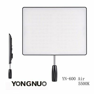 Yongnuo YN600 Air Pro 5500K SMD LED Video Light Panel for Canon Nikon Camera US