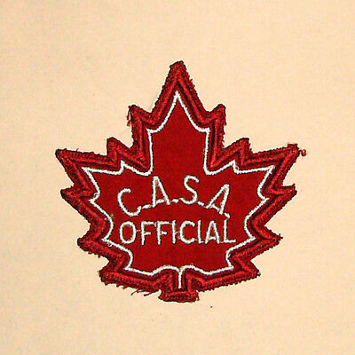 Vintage Canadian Amateur Swimming Association? (C.A.S.A). - Official Patch (