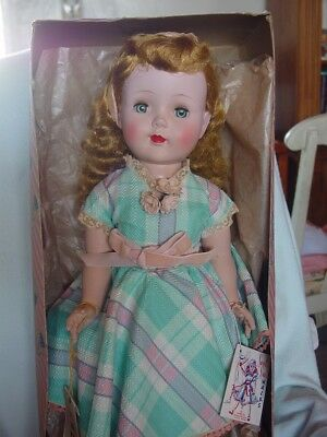 American Character Mint Sweet Sue Doll In Orig Box With Hang Tag, Large Size Vec