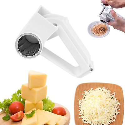 Hand Rotating Cheese Grater Rotary Ginger Slicer Graters Kitchen Gadget