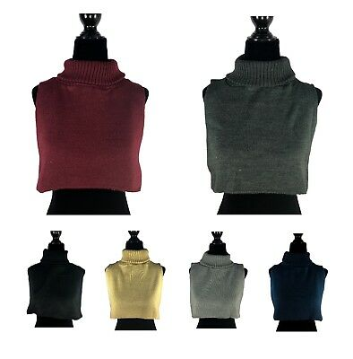 Winter Men Women Dickey Sweater Turtle Neck Inner - Multi colors