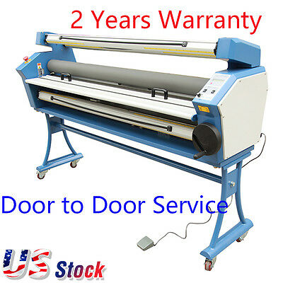 """US Stock-Ving 63"""" Entry Level Full-auto Roll to Roll Cold Laminator"""