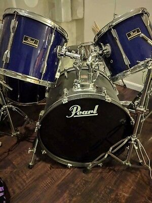Pearl Export Series 5 pc drum set blue (Cymbals not included)