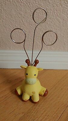 Giraffe Figurine Multi Picture Holder