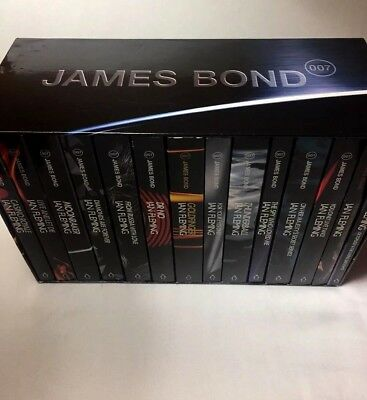 14 Ian Fleming James Bond 007 PENGUIN Collection with slipcase