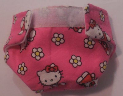 #1 Baby Doll Cloth Diaper Cat Flower Baby Alive Sip N Cuddles Better Now Bailey