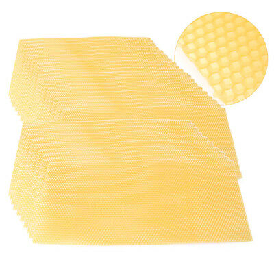 30 PCS Honeycomb Wax Frames Beekeeping Foundation Honey Hive Equipment Tool z