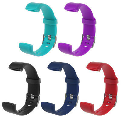 For ID115 Plus Wrist Band Strap Replacement Silicone Watchband Watch Bracelet N