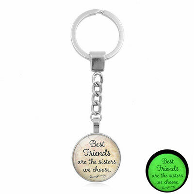 Fashion Ornaments Portable Keychain Letter Metal Birthday Gifts Household Decor