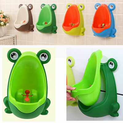 Frog Kids Potty Toilet Training Children Urinal for Boys Pee Trainer Bathroom