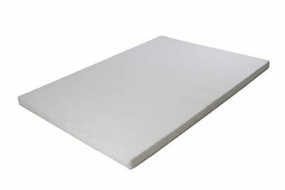 1 memory foam bed mattress topper double 137x190x7.6cm